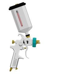 Isolated spray gun
