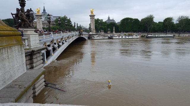 Inondations Paris Seine pluie