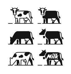 Dairy cow symbols