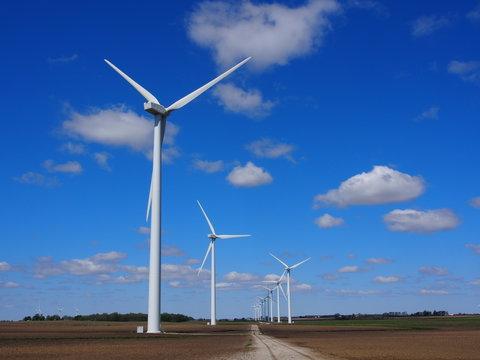 インディアナの風力発電