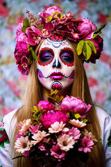 traditional muertos costume
