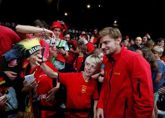 Davis Cup - Semi-Finals - Belgium vs Australia