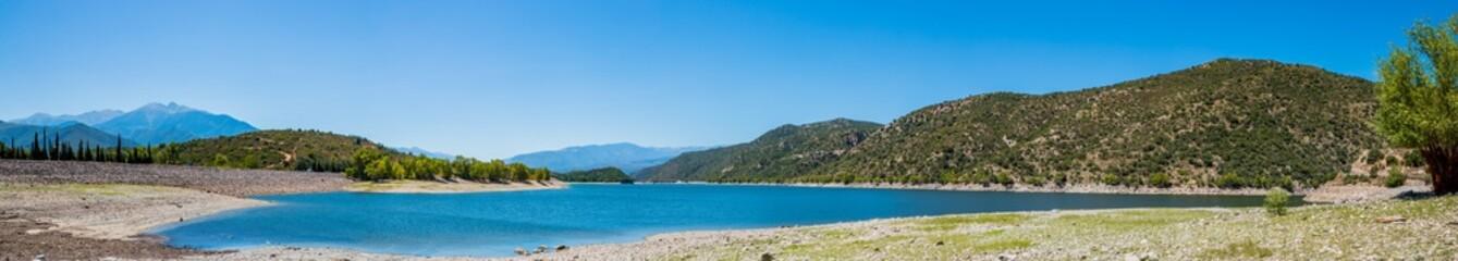 Panorama du Lac de Vinça