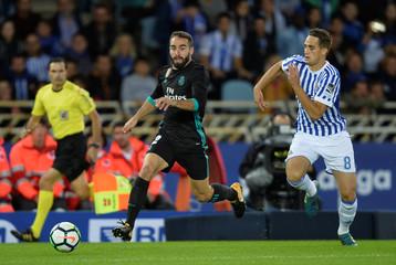 Santander La Liga - Real Sociedad vs Real Madrid