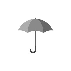 Umbrella silhouette, icon