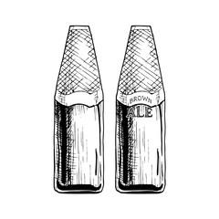 illustration of Beer bottle