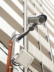 Fototapete - 防犯カメラ