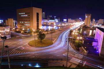 Kushiro Night view
