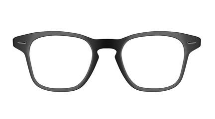 Hipster glasses, 3D Illustration