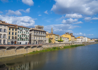River Arno in the city of Florence