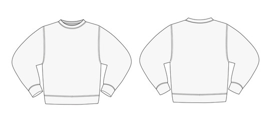 Illustration of sweat shirt