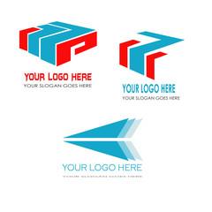 3 logo template