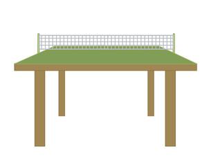 Vector Table Tennis Table - Clip-art vector illustration