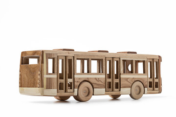 Model from the tree of  toy bus.