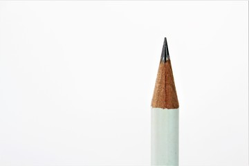An close up image of a isolated pencil