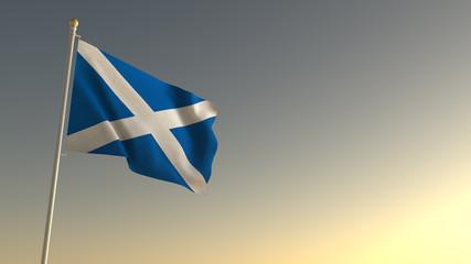 Scotland National Flag