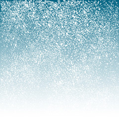 Snowfall abstract background, texture