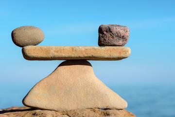 Perfect balance of stones