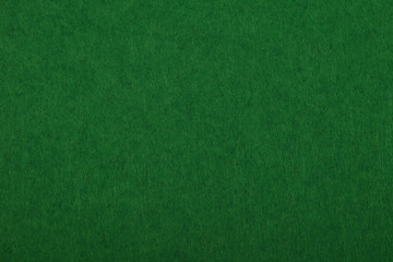 Dark green felt background texture close up