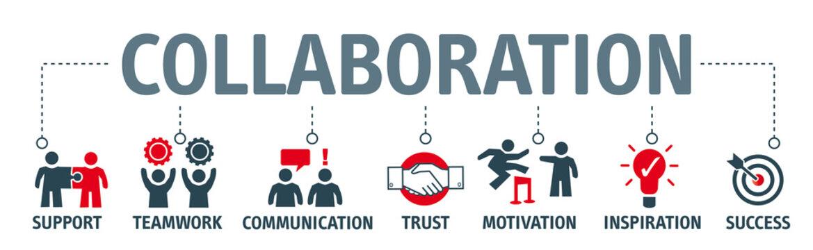 Banner collaboration concept