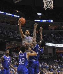 NCAA Basketball: Tulsa at Memphis
