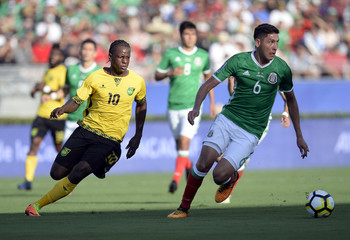 Soccer: 2017 CONCACAF Gold Cup -Mexico  at Jamaica