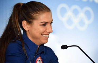 Olympics: Olympics: Football-Women's Team-1st Round Group G-Press Conferences