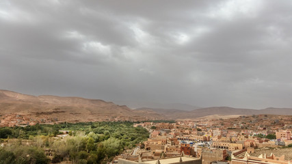 Fotorolgordijn Marokko paesaggio marocco