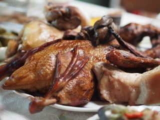 Thai-Chinese Style Roast Duck in Chinese New Year