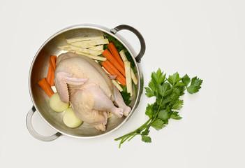Chicken bouillon concept