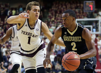 NCAA Basketball: Vanderbilt at Texas A&M