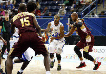 Pan Am Games: Basketball-Puerto Rico vs Venezuela