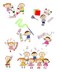 小学生 図工 音楽