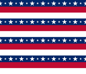 Usa patriotic pattern, ideal for printing VECTOR