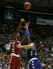NCAA Basketball: Armed Forces Classic-Indiana vs Kansas