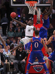 NCAA Basketball: Champions Classic-Michigan State vs Kansas