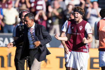 MLS: Playoffs-Los Angeles Galaxy at Colorado Rapids