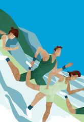 Triathlon: run