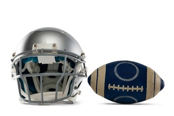 Sports helmet and American football
