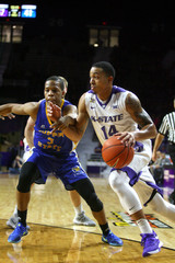 NCAA Basketball: Coppin State at Kansas State