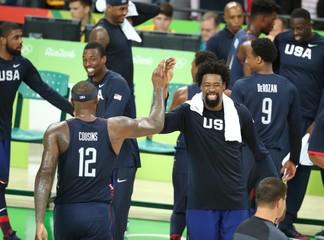 Olympics: Basketball-Men's Team-Final -SRB vs USA