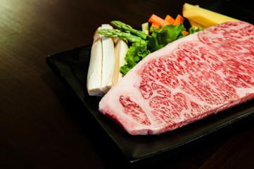 Wagyu beef striploin steak