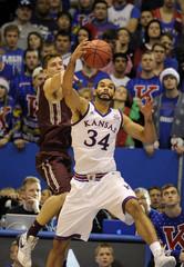 NCAA Basketball: Montana at Kansas