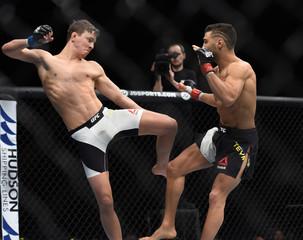 MMA: UFC Fight Night-Teymur vs Svensson