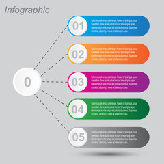 Info-graphic design template.