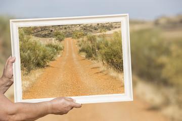 El camino del cuadro