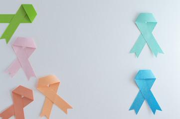 lymphoma colon prostate uterine breast ribbons