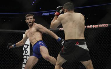 MMA: UFC Fight Night-Herrera vs Rinaldi