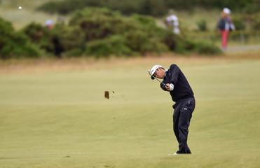 PGA: The 144th Open Championship-Practice Round