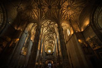 Iglesia de los Jerónimos en Belen, Lisboa